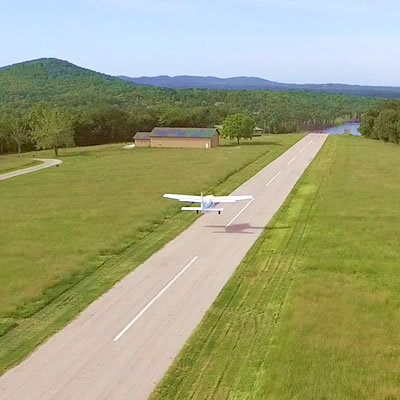 Image of private airstrip